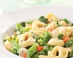 Cheese Tortellini with Mixed Vegetables