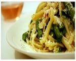 Citrus-Asparagus Linguini
