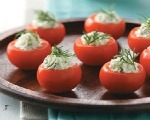 Crabmeat-Stuffed Cherry Tomatoes