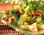 Cucumber Shrimp Salad