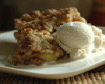 Crumble-topped Apple Pie