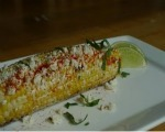 Grilled Corn with Herbs and Parmesan