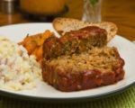 Lentil & Rice No-Meat Loaf