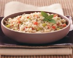 Rice Salad with Peas and Tomatoes