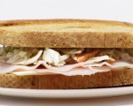 Tangy Turkey Sandwich with Slaw