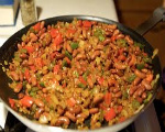 Rice and Red Beans Skillet
