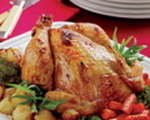 Greek Style Roasted Chicken