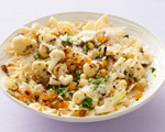 Roasted Cauliflower Farfalle