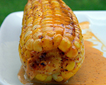 Roasted Corn in Chile Coconut Milk