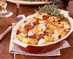 Roasted Potatoes and Turnips