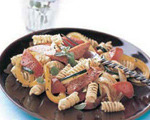 Rotini Pasta and Kielbasa Skillet