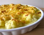 Cauliflower in Cheese Sauce