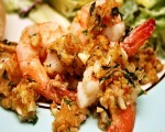 Baked Shrimp Scampi with Asparagus