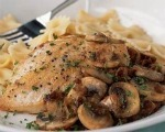 Balsamic Chicken with Mushrooms & Sun-dried Tomatoes