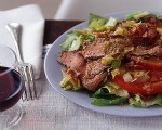 Sirloin Salad with Lemon Vinaigrette