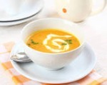 Fresh Carrot & Cilantro Soup