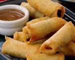 Festive Chinese Spring Rolls