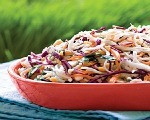 Colorful & Crunchy Coleslaw