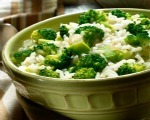 Broccoli, Egg and Rice Scramble