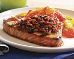 Grilled Tuna with Olive Tapenade