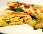 Mango & Goat Cheese Quesadillas