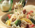 Springy Pasta Primavera