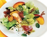 Peach and Greens Salad