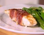 Prosciutto-wrapped Cod