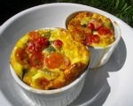 Individual Italian Sausage & Vegetable Frittatas