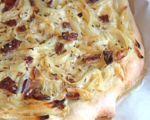 Sausage & Onion Tarte
