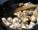 Skillet Mushrooms with Garlic