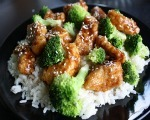 Wok Fried Orange Chicken & Broccoli
