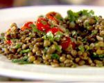 Herbed Lentils with Sun-Dried Tomatoes