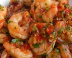 Fiery Szechwan Shrimp
