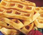 Autumn Apple Waffles