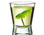 Rum and Mint Shot