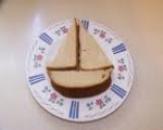 Sailboat sandwich
