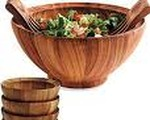 Wooden Bowl Salad