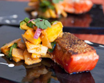 Salmon with Jicama and Mango Salad
