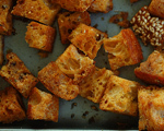 Salt and Pepper Croutons