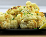 Sauted Cauliflower, Olives and Orange Zest   