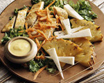 Sauteed Chicken and Pineapple Salad with Tequila Dressing