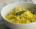 Sauted Corn with Brown Sage Butter