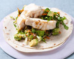Sauted Fish Tacos with Chipotle Mayo