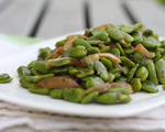 Sautéed Fresh Fava Beans, Onions and Fennel
