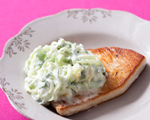 Sauted Mahi-mahi with Yogurt Sauce