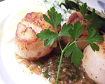 Scallops Provencal
