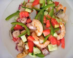 Hot Seafood Salad