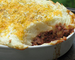 Shepherd's Pie with Beef, Vegetables and Mashed Potatoes