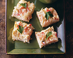 Shrimp and Crab Potato Appetizers
